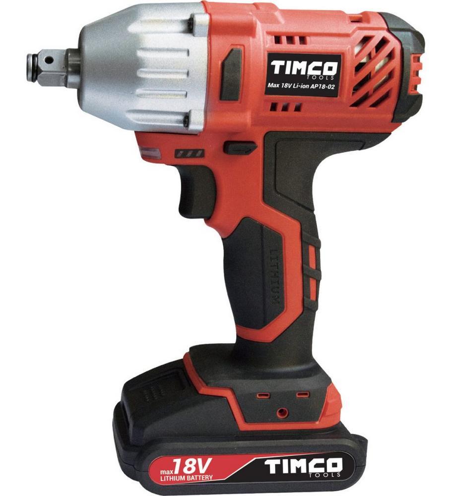 Timco 18V 2,0Ah 380nm mutterinväännin