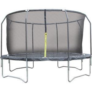 i-Sport Air 4,3m trampoliini turvaverkolla 96 jousta