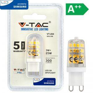 LED-lamput G9 230V