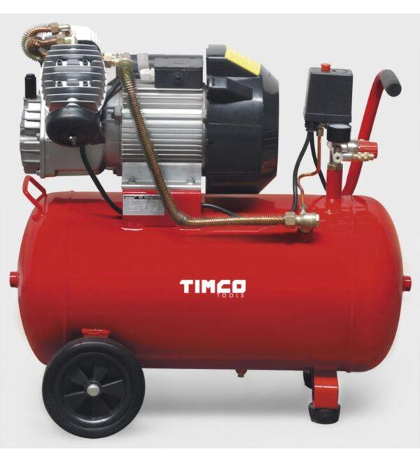 Timco 3HP 50 L v-lohko kompressori