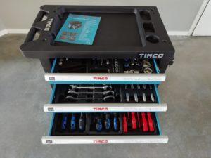 Timco työkaluvaunu 220 osaa