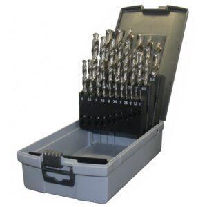 Poranteräsarja 25-osaa 1-13mm HSS-Coboltti TT-Drill