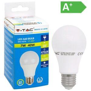 LED-lamppu E27 7W 2700K 470LM A60