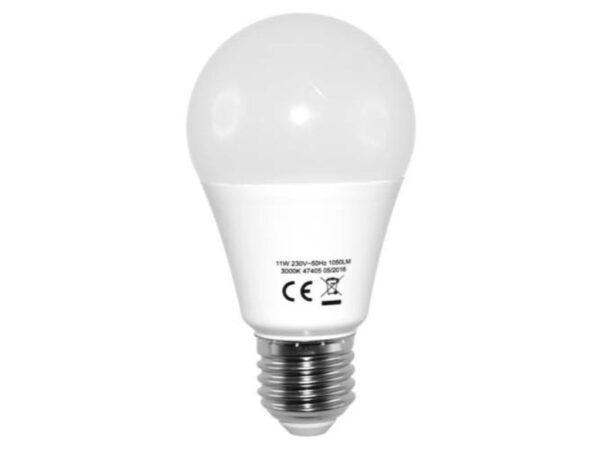 Vakiolamppu LED 10 W E27 806 lm 3000 K