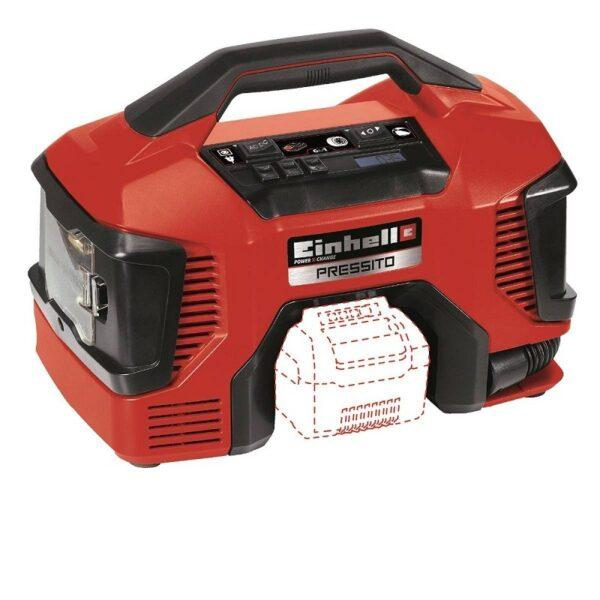 Einhell Akkukompressori TE-AC 1811 Li AC Solo