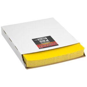 Hioma-arkki 230 x 280 eri karkeuksia, yleishiontaan 50kpl ltk laatikon kuva