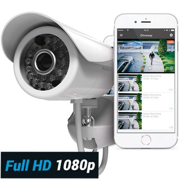Y-cam Protect Outdoor 1080 Valvontakamera