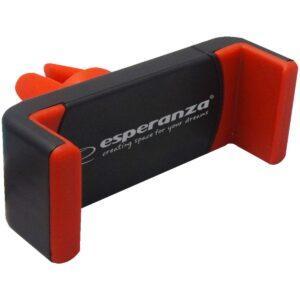 Puhelinteline autoon musta punainen ESPERANZA