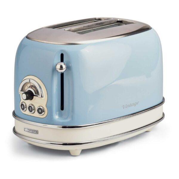 sininen retro leivänpaahdin ariete vintage