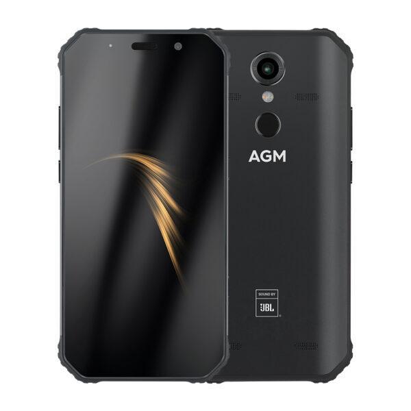 AGM A9 4+64 GB IP68 älypuhelin JBL äänentoistolla