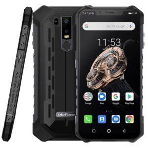 Ulefone Armor 6S Iskunkestävä IP68 Älypuhelin, 6GB+128GB, musta