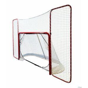 iSport Pro jääkiekkomaali suojaverkolla ja tarkkuuspusseilla