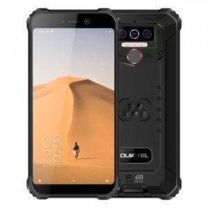 Oukitel WP5 Iskunkestävä älypuhelin 8000 mAh mustapunainen