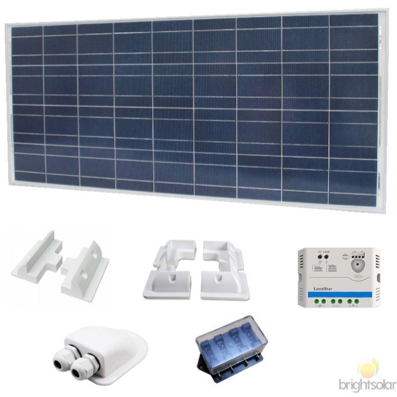 Aurinkopaneelit ja tarvikkeet
