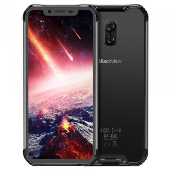 Iskunkestävä puhelin Blackview BV9600 IP68, musta