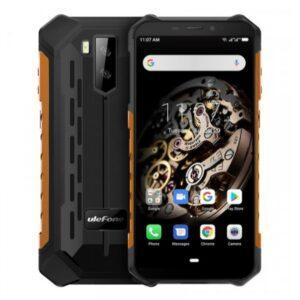 Ulefone Armor X5 iskun- ja vedenkestävä älypuhelin, dual sim, 32 GT, musta/oranssi