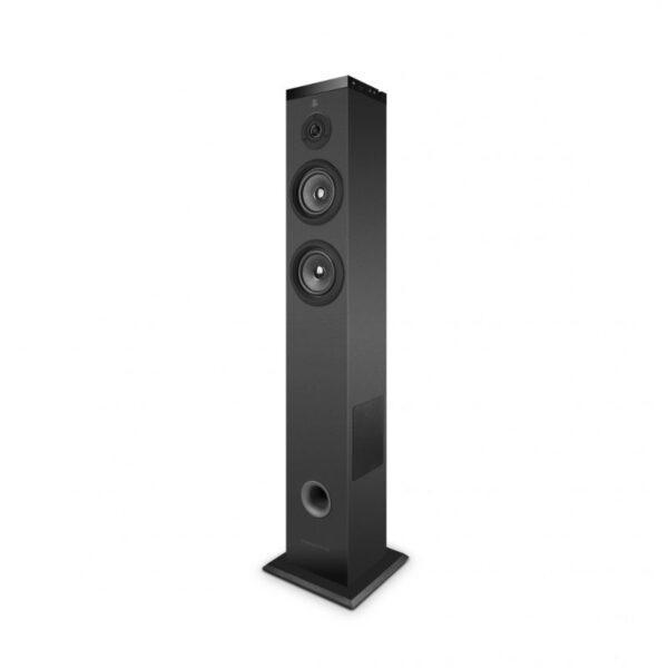 Bluetoothkauitin Torni monihuonejärjestelmä wifi, 2.1 60W, fm radio, led kosketusnäyttö, musta