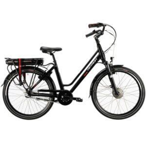 """Devron City 26"""" 3-V naisten sähköpyörä 36V 250W, musta"""