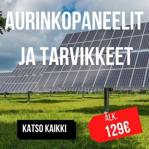 aurinkopaneelit ja tarvikkeet diileri.com