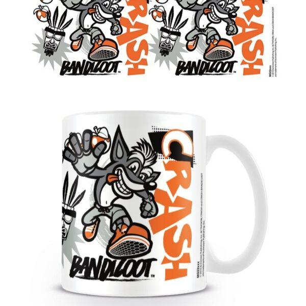 Crash Bandicoot Stencil muki