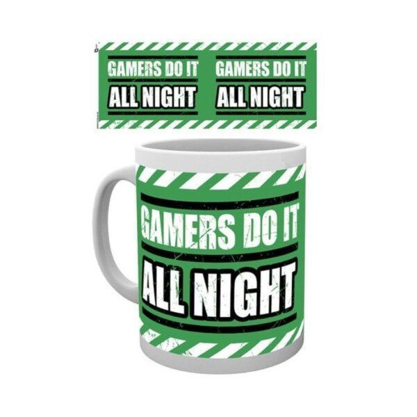 Gaming All Night muki