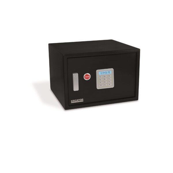 Kreator elektroninen kassakaappi 438X300X400MM musta
