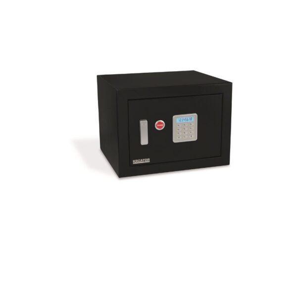 Kreator palonkestävä elektroninen kassakaappi 330x450x395 musta