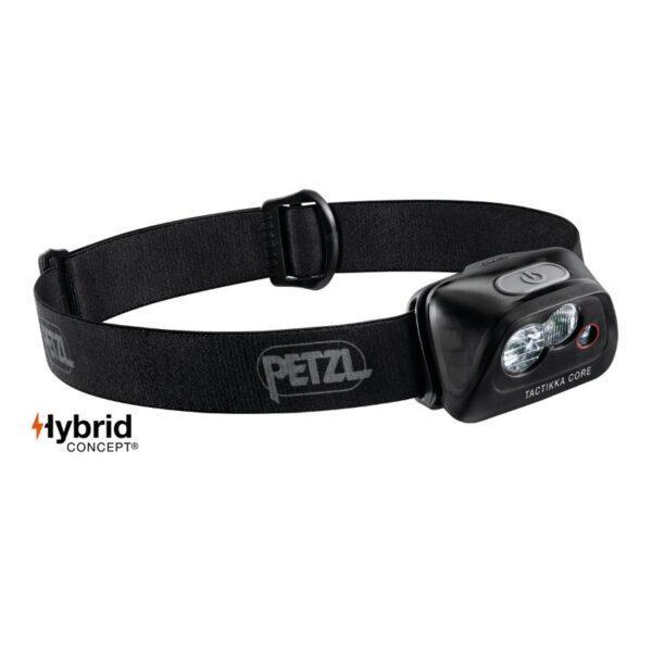 Otsalamppu ACTIK CORE Musta PETZL 350lm Hybrid