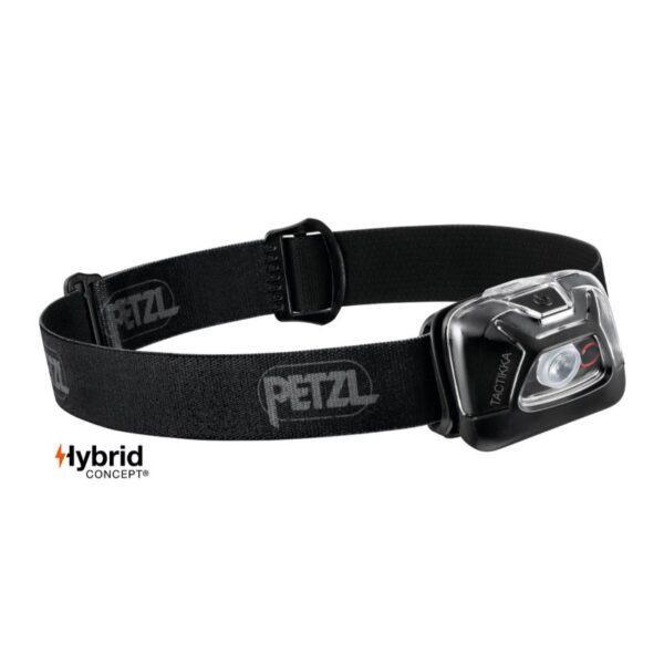 Otsalamppu TACTIKKA Musta PETZL 300lm Hybrid