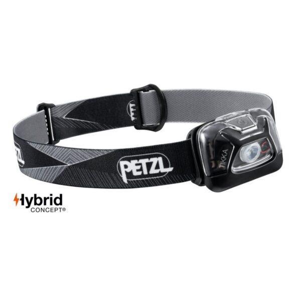 Otsalamppu Tikka musta Petzl 300lm Hybrid