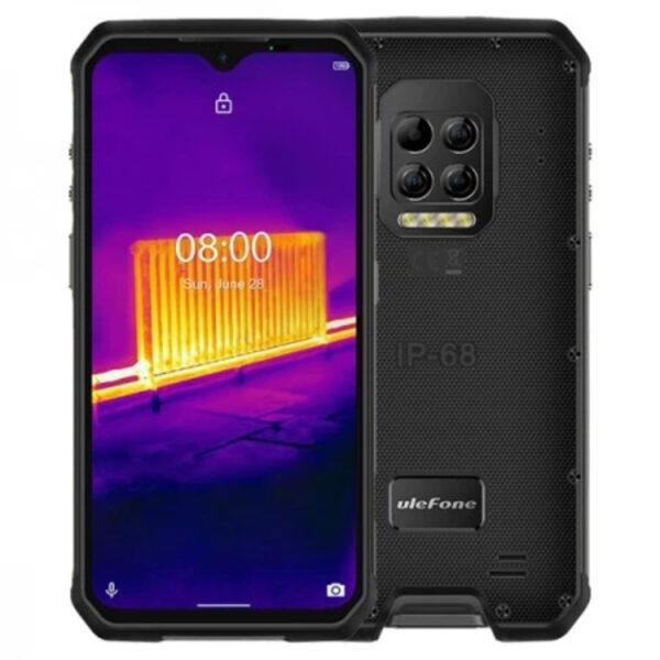 Ulefone Armor 9 IP68 4GB/128GB, älypuhelin, musta