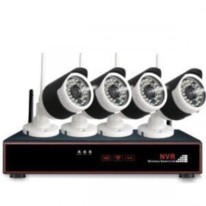 4 x Langaton FullHD kamera ja verkkotallennin