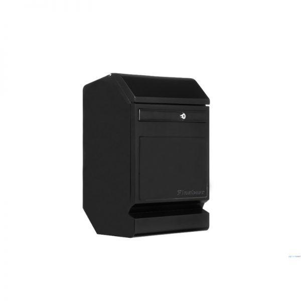 Finnbear Postilaatikko, ruostumatonta terästä, musta/teräs