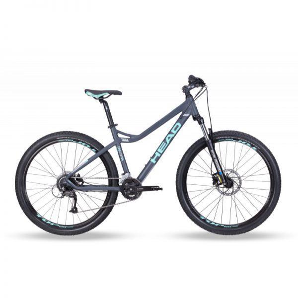 """HEAD Tacoma II 27,5"""" - naisten maastopyörä, 44 cm, mattaharmaa"""