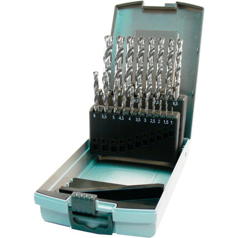 Poranteräsarja 19-Os. 1-1 mm, HSS-G, TT-Drill