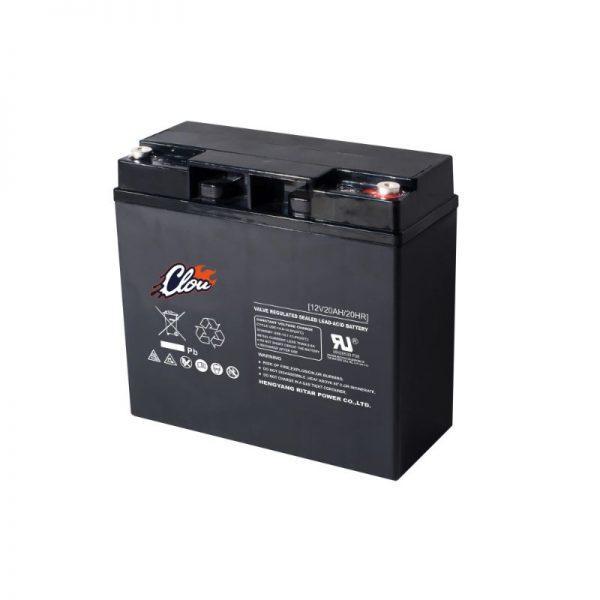 Clou 12200 huoltovapaa AGM akku 20 Ah/12 V F13 M5