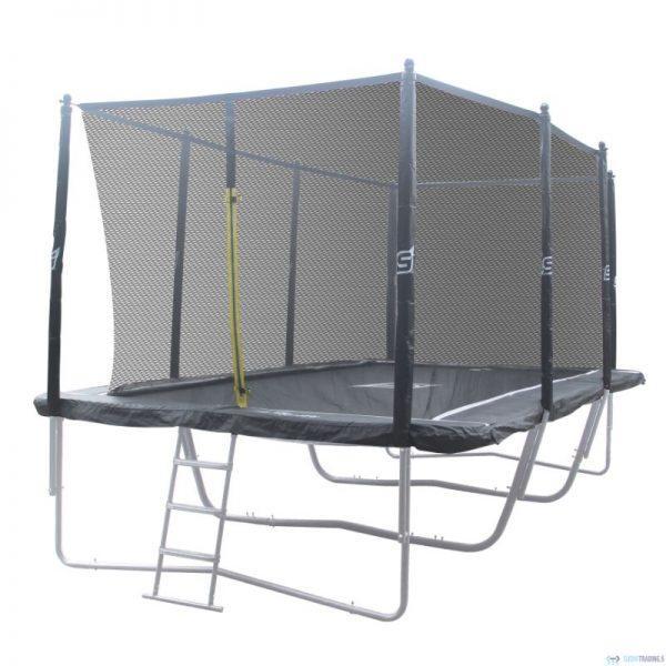 iSport Air 4,57 x 3 m 104 jousta trampoliini turvaverkolla