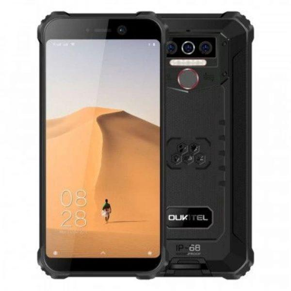 Oukitel WP5 Iskunkestävä älypuhelin 8000 mAh musta