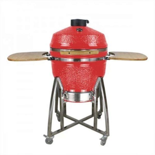 """Loimo Kamado keraaminen grilli 26"""" - punainen"""